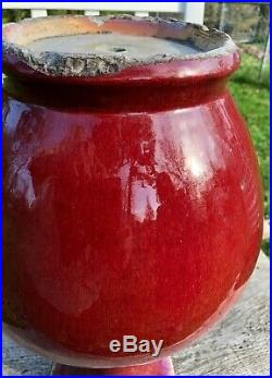 19 LARGE Fine and Rare Antique Chinese Qing Period Flambe Glazed Vase 48 cm ox