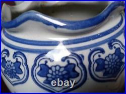19thCentury Chinese blue & white vase large, underglazes blue good condition