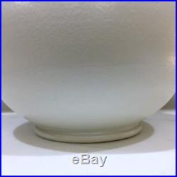 ANTIQUE large Dehua Chinese vase circa 1880 plain white glaze GORGEOUS