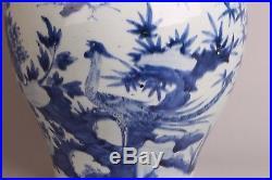 Amazing 47 cm Large Chinese Porcelain Vase, Wanli 1573-1619 16thC Museum Piece