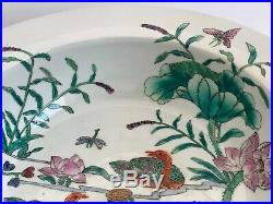 Amazing Old Chinese Tongzhi Period Large and Heavy Bowl