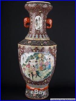 China 20. Jh. Große Bodenvase A Large Chinese Porcelain Vase Chine Vaso Cinese