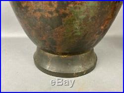 Early 15th C. Chinese Large Bronze Ritual Wine Vessel, LEI
