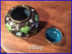 Good Large Chinese Cloisonne Pot / Ginger Jar, C1920