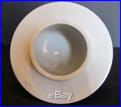 Large Vintage Chinese Porcelain Famille Rose Temple Jar Ginger Jar 18 tall