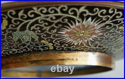 RARE Lao Tian Li Cloisonne PLATE TRAY VASE JAR BOWL lARGE 12 1/4 DRAGON