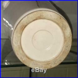 Rare 17th C Transitional Period Large Blanc de Chine Dehua Sleeve Vase C 1620+