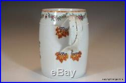 Rare LARGE 1760 Chinese ARMORIAL MUG QIANLONG QING export vase plate cup